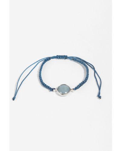 Синий браслет с камнями Parfois