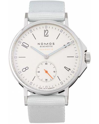 Часы с ремешком - белые Nomos Glashütte