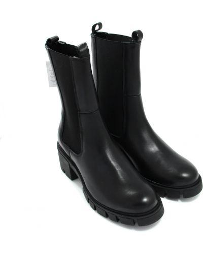 Кожаные ботинки - черные Zign