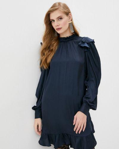 Повседневное синее платье Zadig & Voltaire