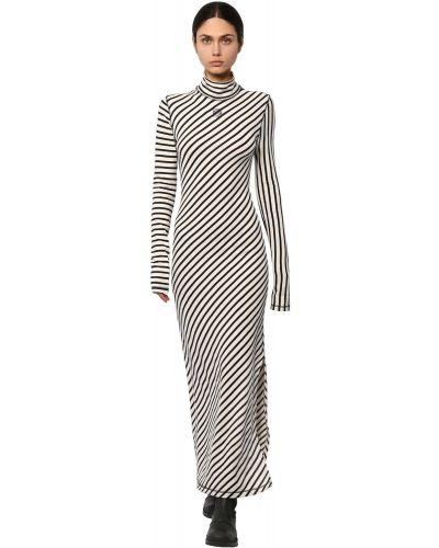 Платье с разрезами по бокам с воротником Loewe