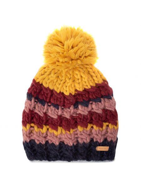Żółta czapka z akrylu Barts