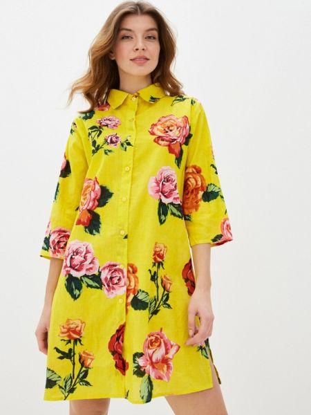 Платье платье-рубашка индийский Indiano Natural