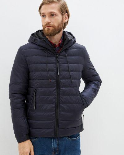 Синяя утепленная куртка La Biali