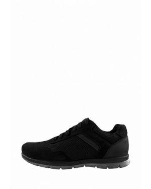 Кожаные кроссовки - черные Cliford