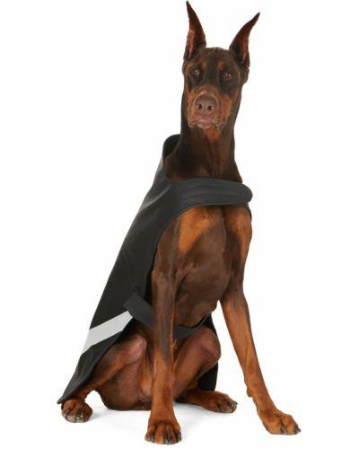 Czarny płaszcz przeciwdeszczowy bez rękawów srebrny Stutterheim