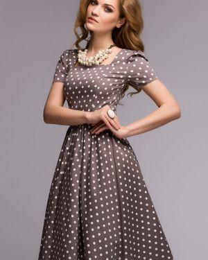 Летнее платье миди повседневное 1001 Dress