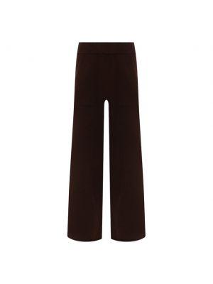 Кашемировые брюки - коричневые Not Shy