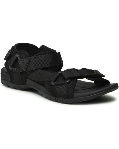Czarne sandały casual 4f