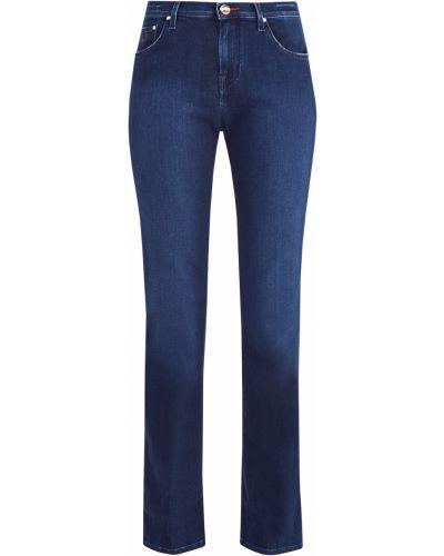 Расклешенные джинсы с вышивкой с мехом Jacob Cohen