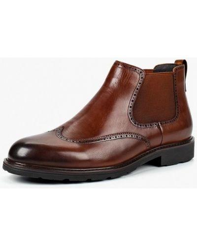Кожаные ботинки осенние челси Marco Lippi