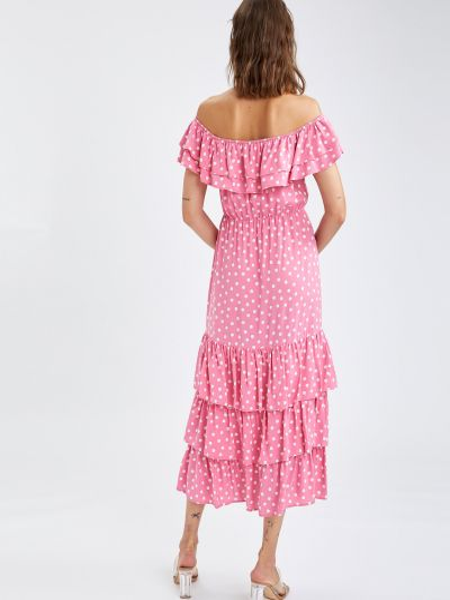 Платье - розовое Defacto
