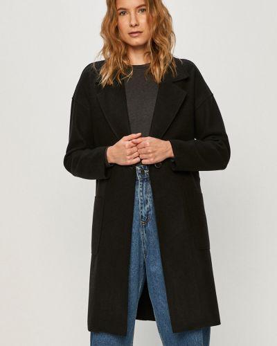 Czarna kurtka z kapturem materiałowa Only