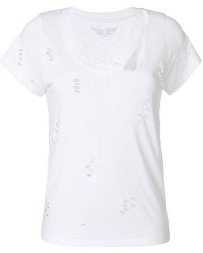 Белая футболка Zadig & Voltaire