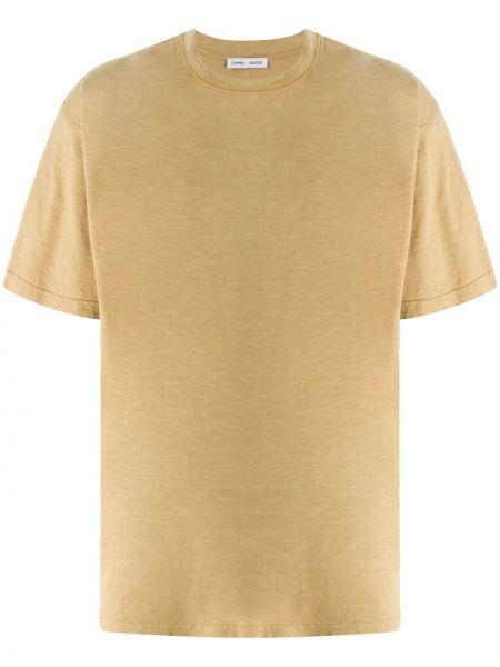 С рукавами прямая хлопковая футболка с круглым вырезом Cmmn Swdn