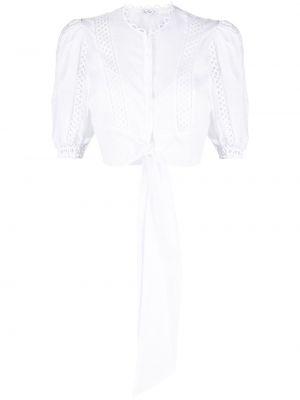 Biała bluzka bawełniana Charo Ruiz Ibiza