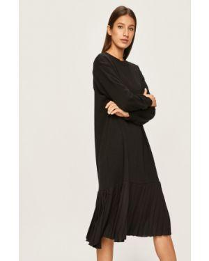 Sukienka midi przeoczenie wełniana Answear