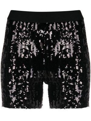 Нейлоновые черные с завышенной талией шорты Junya Watanabe