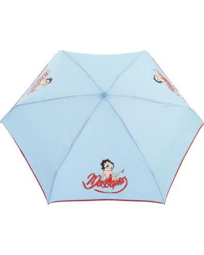 Автоматический зонт складной из полиэстера Moschino