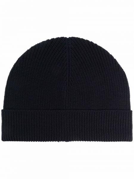 Niebieska czapka wełniana Barena