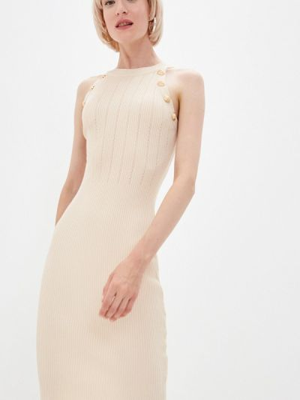 Платье-майка - бежевое Soky & Soka