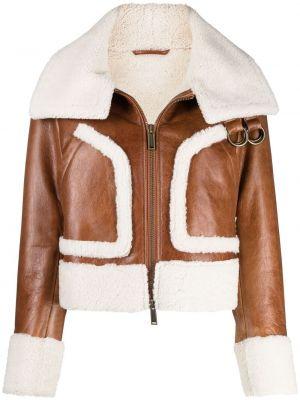 Куртка двусторонняя - коричневая Dsquared2