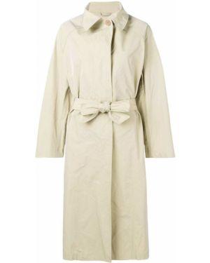 Пальто классическое с поясом на пуговицах с воротником Isabel Marant étoile