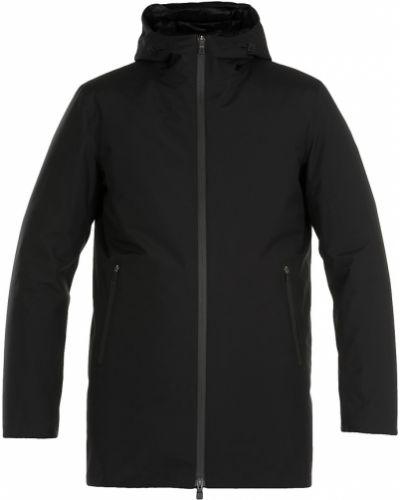Z rękawami długo płaszcz z kołnierzem od płaszcza przeciwdeszczowego Herno