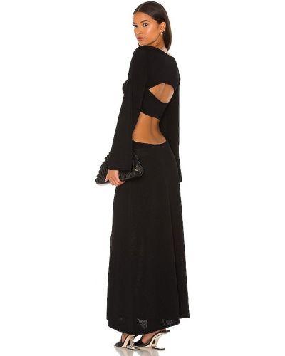 Платье с открытой спиной - черное Cult Gaia