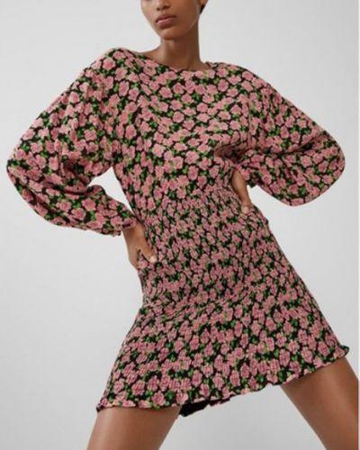 Платье с длинными рукавами с подкладкой Zara