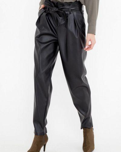 Кожаные черные брюки Gregory