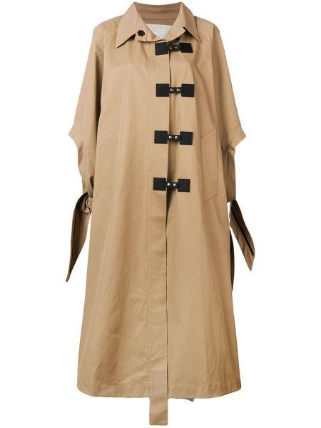 Пальто оверсайз с воротником на кнопках с рукавом реглан Walk Of Shame