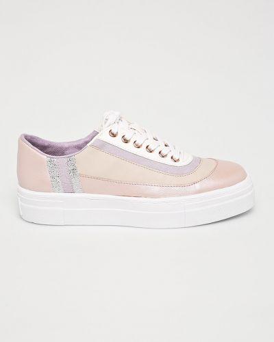 Кроссовки текстильные розовый Tamaris