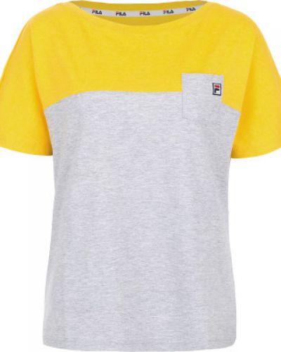 Спортивная футболка прямая Fila