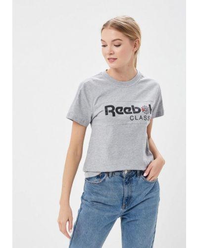 Серая футболка индийская Reebok Classics