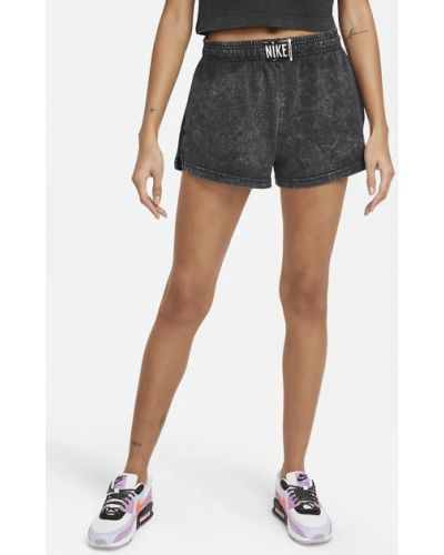 Спортивные шорты короткие - черные Nike