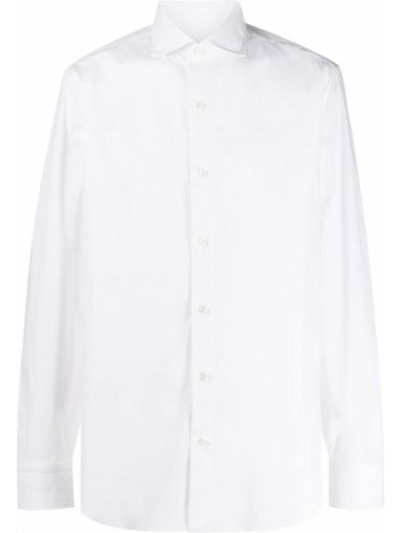 Рубашка с воротником с манжетами стрейч Salvatore Piccolo