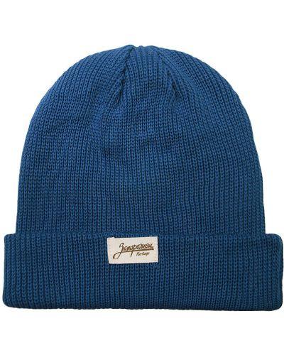 Синяя шапка хлопковая Запорожец Heritage