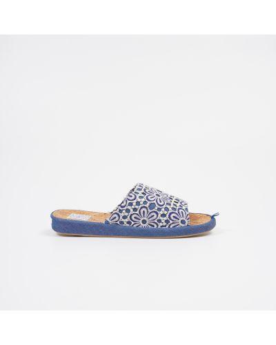 Тапочки - голубые Gemelli
