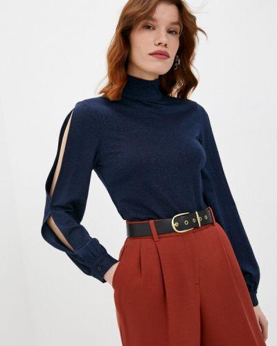 Синяя блузка с длинными рукавами Trussardi