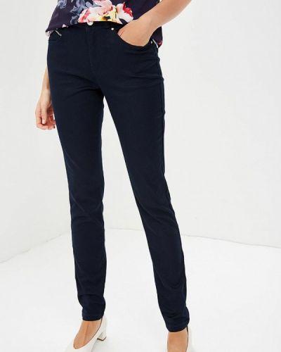 Синие брюки зауженные Wallis