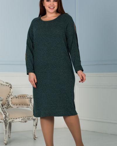 Платье миди с люрексом азалия