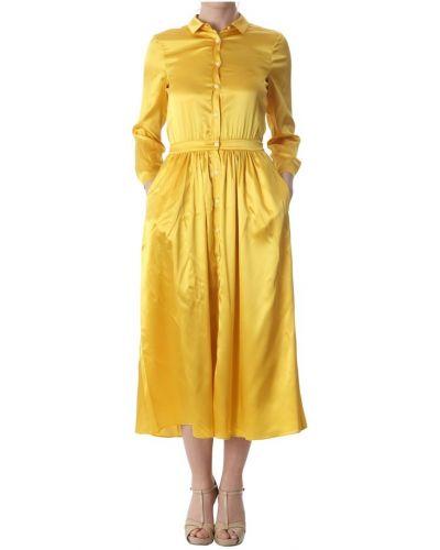Żółta sukienka Aglini