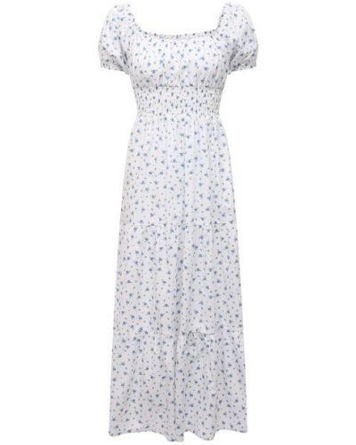 Платье из вискозы - белое Faithfull The Brand