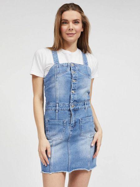 Джинсовое платье - синее Mossmore