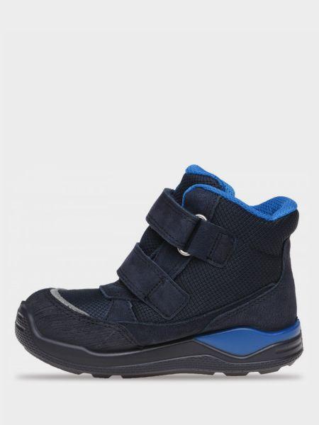 Водонепроницаемые замшевые ботинки на липучках Ecco