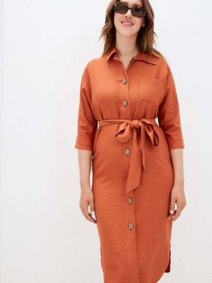 Платье - коричневое Mankato