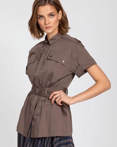 Блузка сафари с карманами Vassa&co
