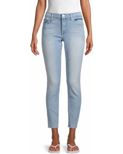 Укороченные зауженные джинсы Hudson