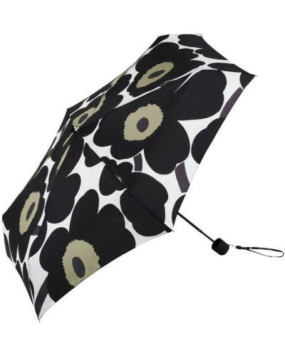 Czarny parasol Marimekko